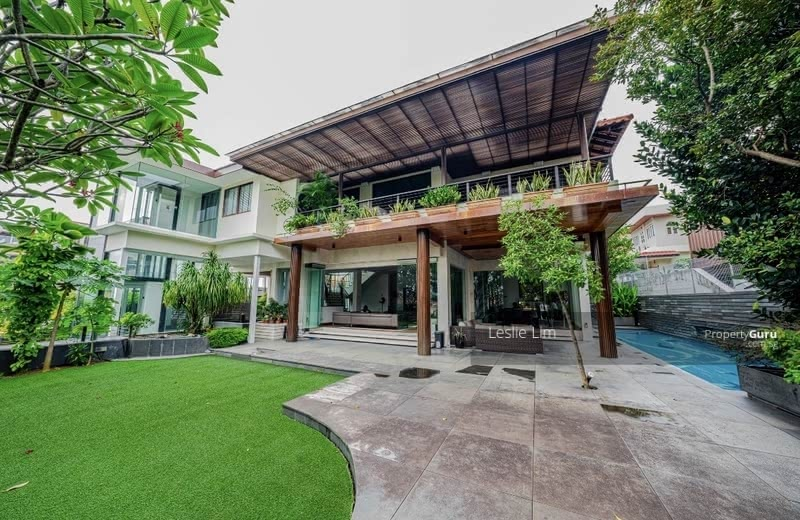 Elevated Huge Bungalow Like GCB In Braddell Estate #130737572