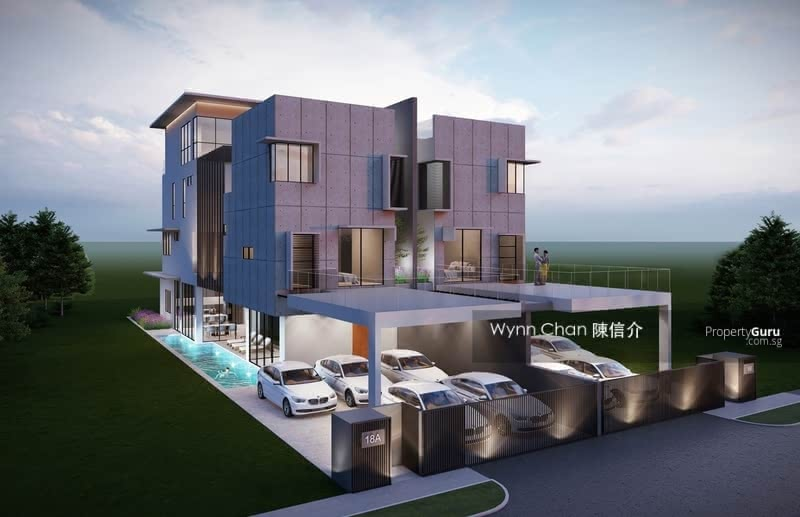 ⭐ WLD ⭐ D14 Sallim Road Pair of 3 Storey Semi-Detach with an Attic, Pool and Lift 7 ensuites 5 cars #130864666