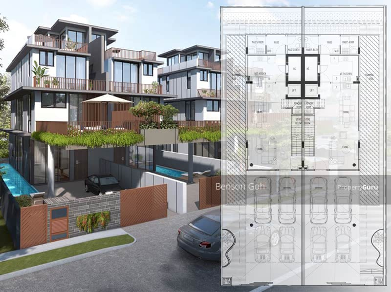 For Sale - ★ Brand New ★ 4 units of Bespoke Luxury Landed Homes ★