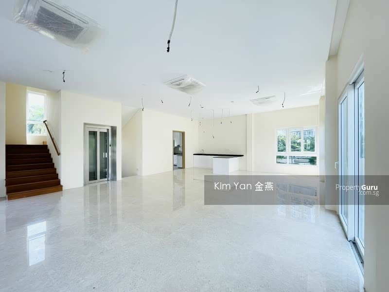 For Sale - Brand New/Luxury/Freehold Detached, Lift and basement, Huge for 3 generations, near to Canberra MRT