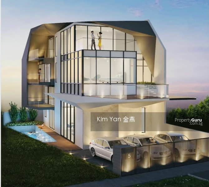 Brand New & Luxury Freehold Semi-D with Lift and Swimming Pool, 6 bedrooms ensuite, park 3 cars #130996554