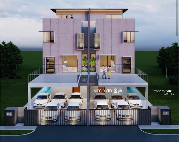 A Pair of Freehold Semi-D/Brand New/luxury/Pool/Lift/7 Ensuite Bedrooms/Dry & Wet Kitchen/park 5car #131350682