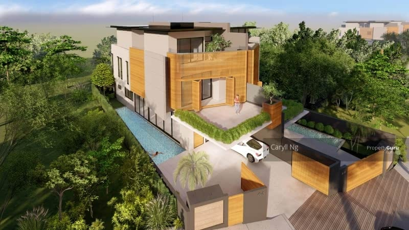 For Sale - D10 Brand New 2. 5 Storey Semi-D @ Near Sixth Ave MRT, Fourth and Second Ave
