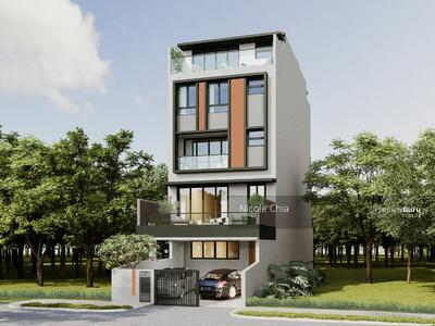 For Sale - ⭐️ Brand new East Coast vicinity freehold terrace with lift  near Eunos MRT