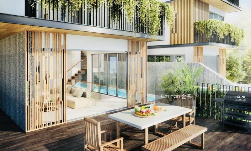For Sale - Brand New & Freehold Semi-D, 5 storey with Lift & Swimming Pool, 6+1 bedrooms ensuite, Facing South