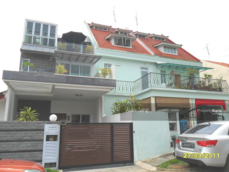Casuarina road single storey terrace house casuarina road for Terrace house singapore