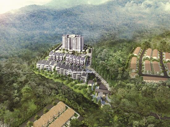Rimbun Sanctuary - Aerial View